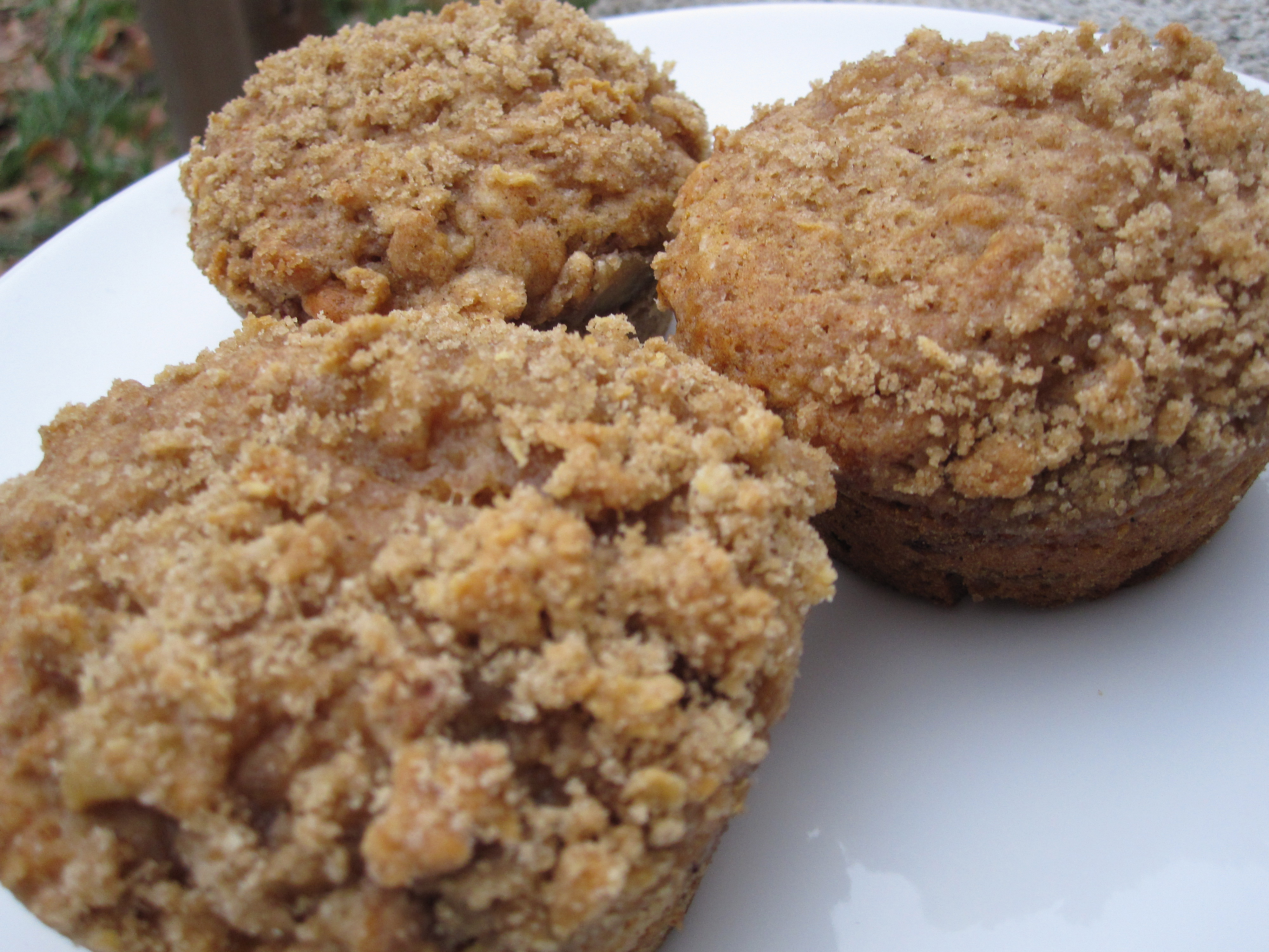 ... With A Vengeance Apple Pie Crumb Cake Muffins | Killer Bunnies, Inc