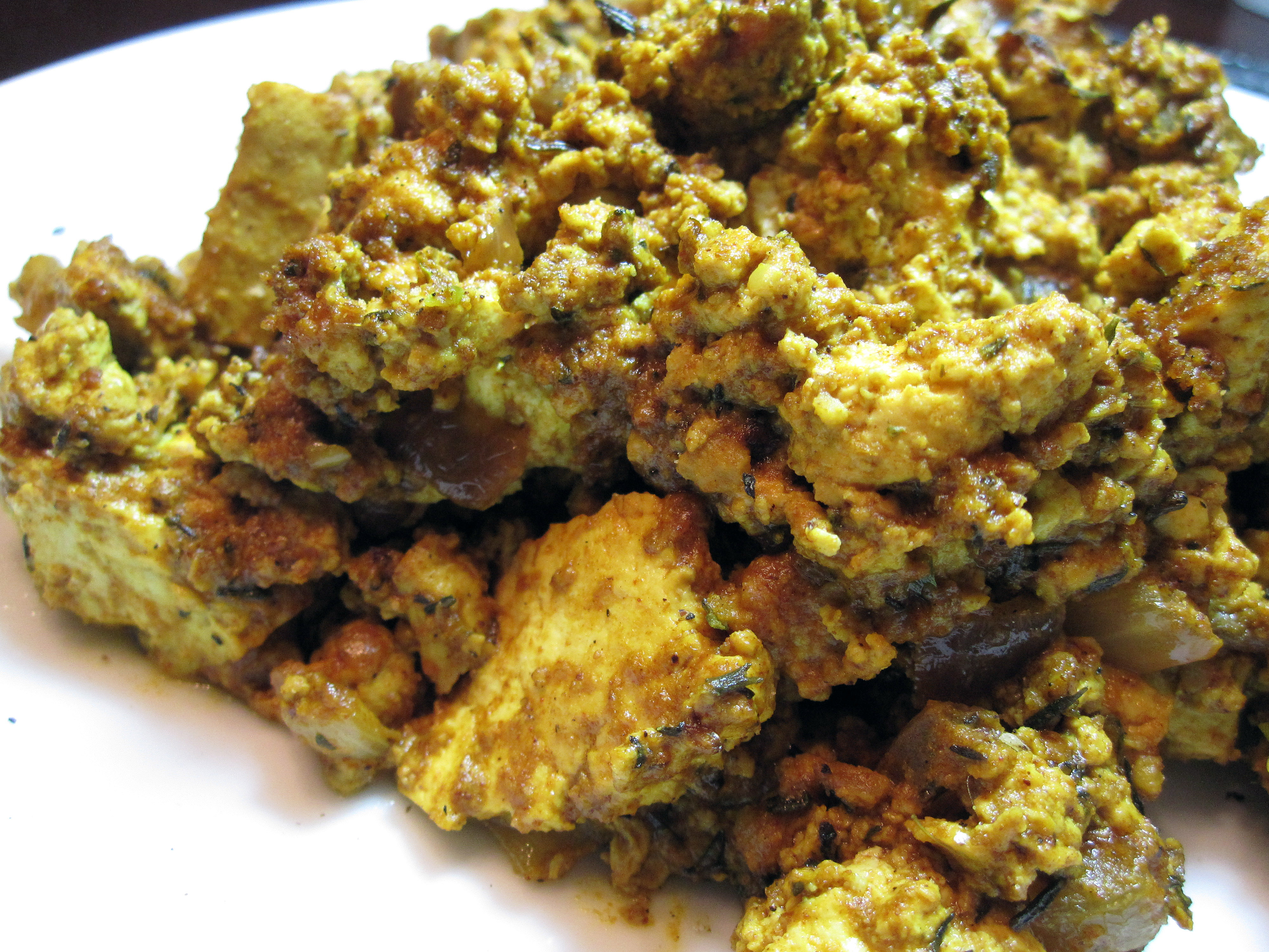 Tofu Scramble from Vegan With A Vengeance | Killer Bunnies, Inc