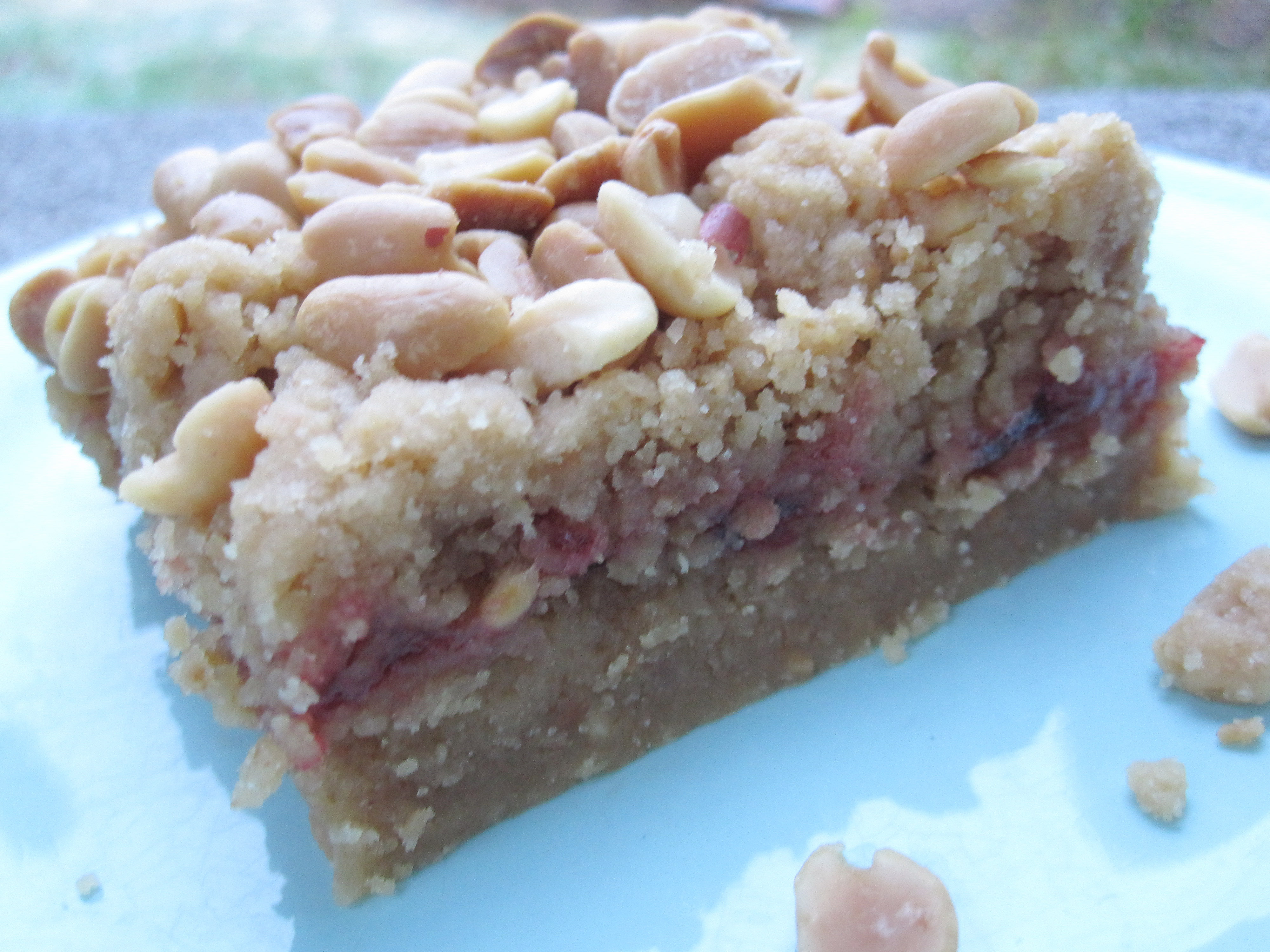 Peanut Butter Jam Bars