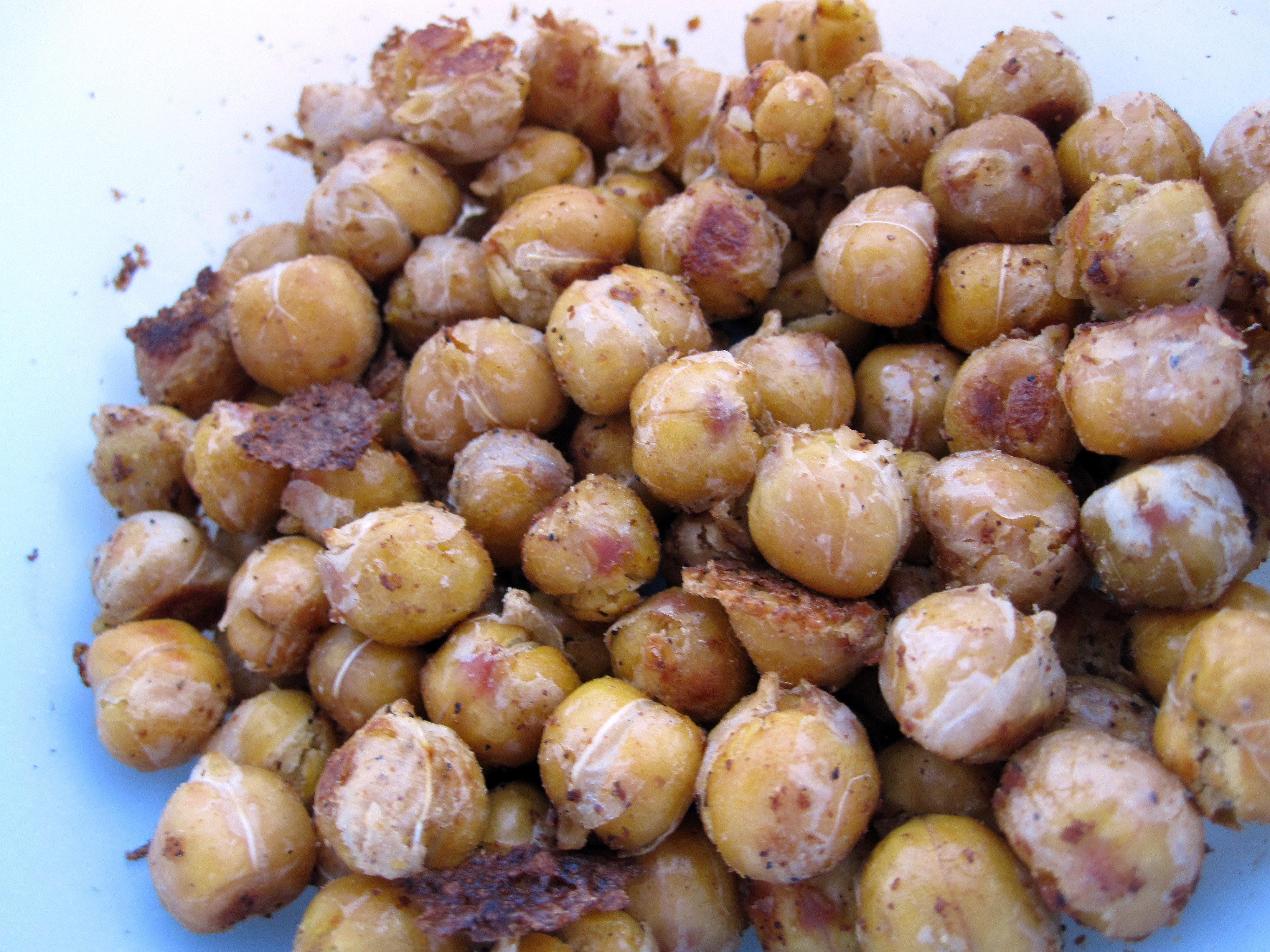 Easiest Roasted Chickpea Recipe Ever