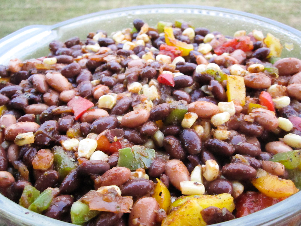 Another Throwback Recipe, So Easy And Tasty: South Of The Border Bean Casserole