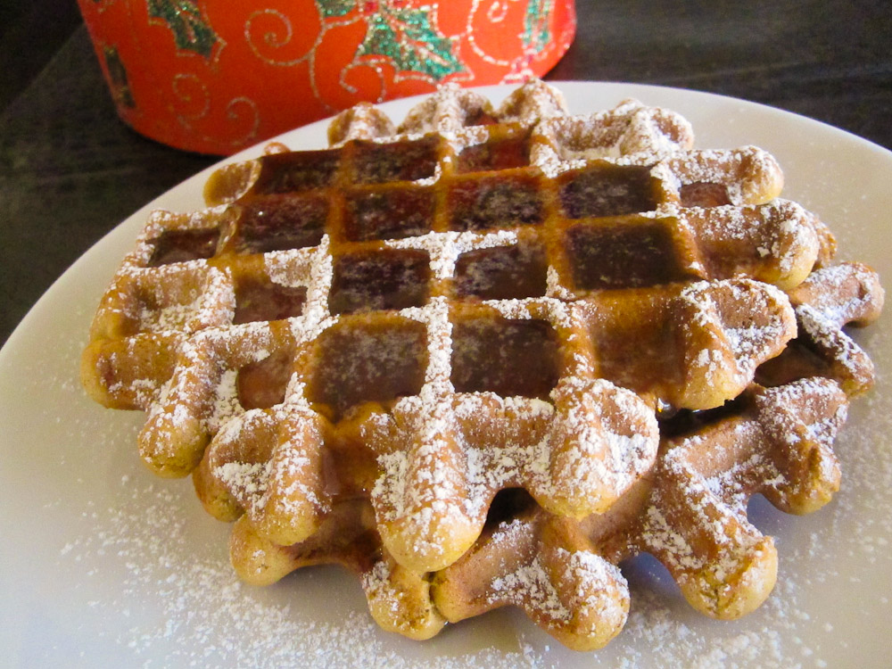 Gingerbread Waffles with Ginger, Cinnamon and Molasses from Vegan ...