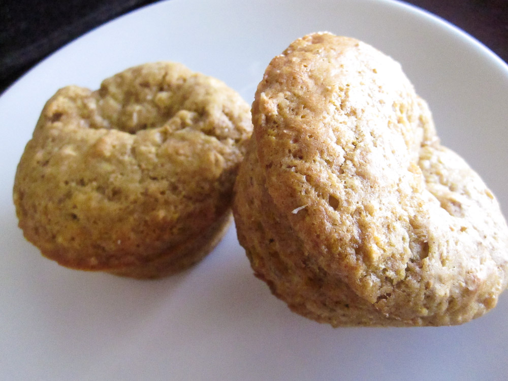 Banana Oat Muffins From Not Your Parent's Granola | Killer Bunnies ...