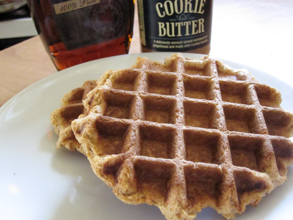 cookie butter waffles