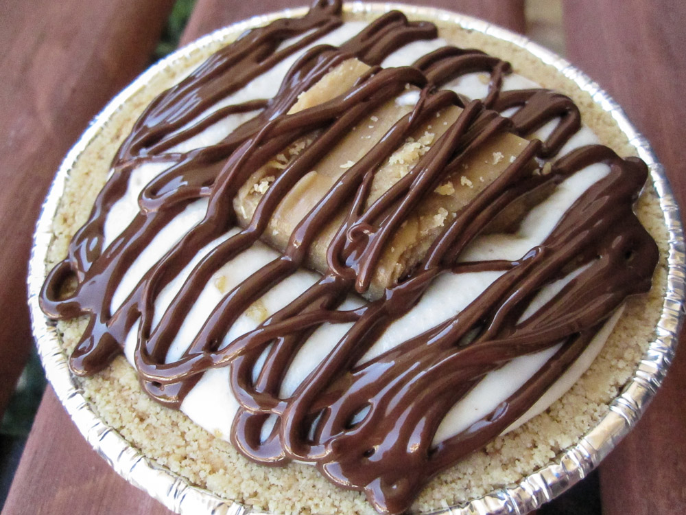 No Bake Vegan Butterfinger Pie Recipe