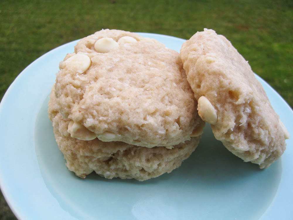 White Chocolate Coconut Cookies_-2