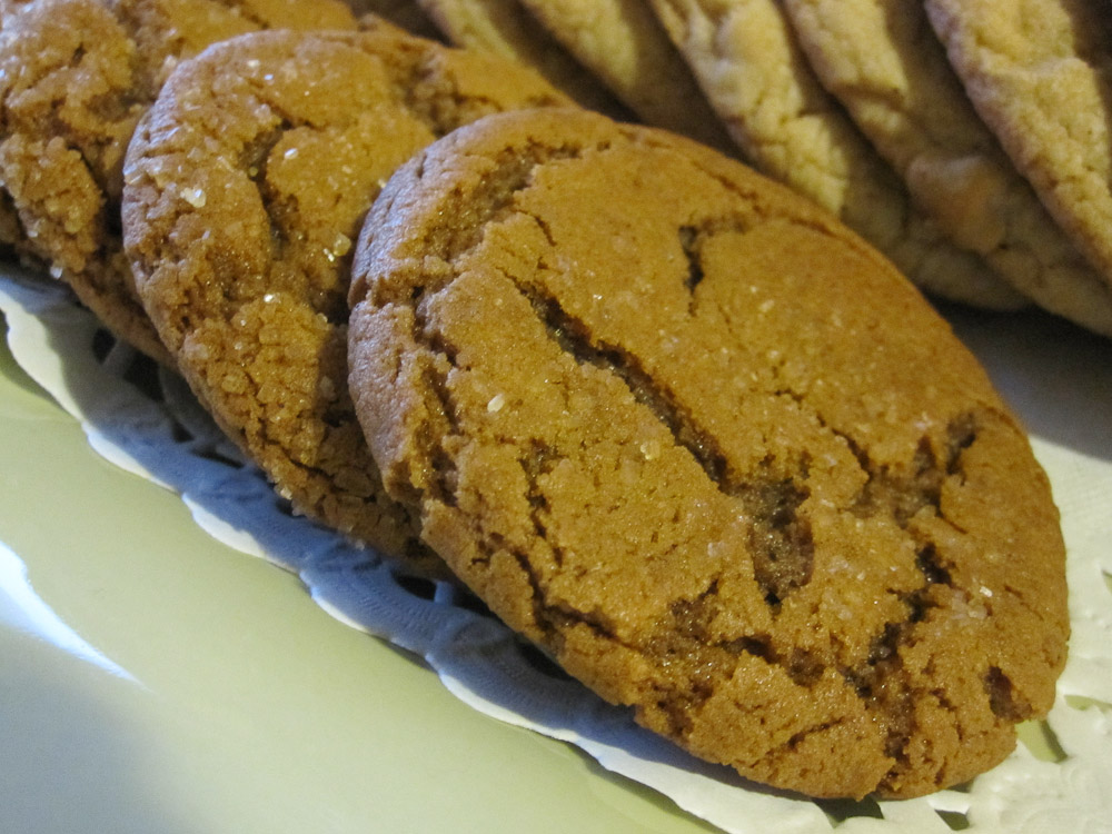 Ginger Molasses Cookies From Chase