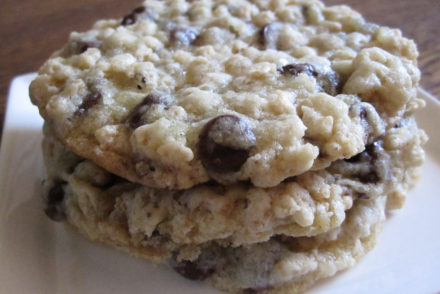 crisp chocolate chip cookies-3