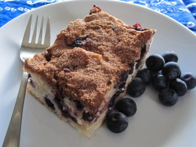 Easy Blueberry Coffee Cake-2