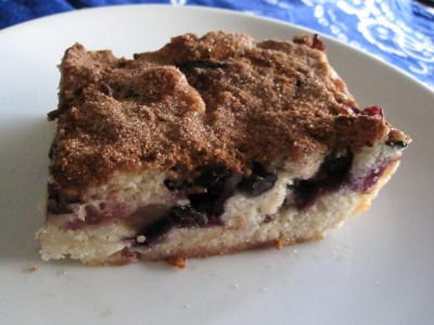 Easy Blueberry Coffee Cake Recipe