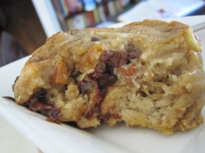 Vegan bread pudding-3