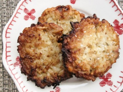 Vegan Sunchoke or Jerusalem Artichoke Latke Recipe