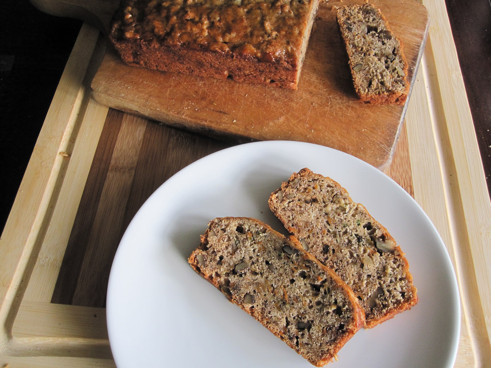 Vegan Banana Carrot Bread Recipe