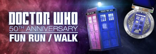 Doctor Who 50th Anniversary Virtual fun runwalk
