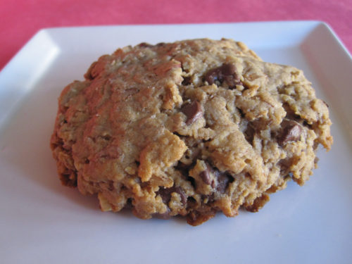 Peanut Butter Chocolate Rye Flakes Cookies-2