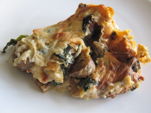 Savory Bread Pudding-2
