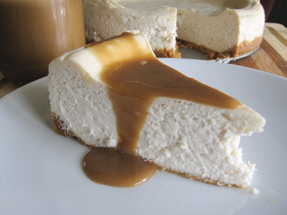 Eggless Vegan Cheesecake