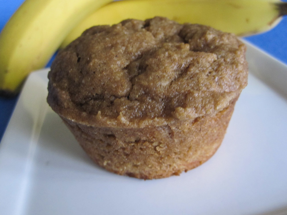 Butterscotch Banana muffins-2