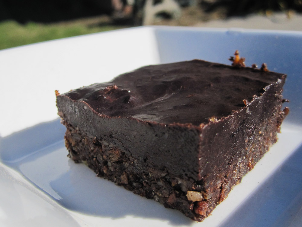 Raw all natural Chocolate Brownies-2