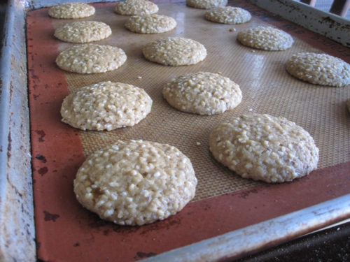 Vegan Sesame Lemon Crisps Recipe