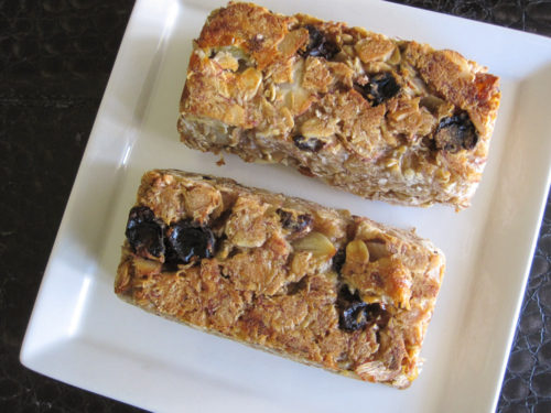Chewy Banana Coconut Granola Bars-2