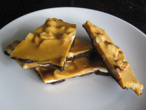 Chocolate-Dipped Banana Nut Brittle-2