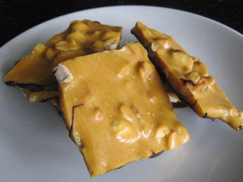 Chocolate-Dipped Banana Nut Brittle-3