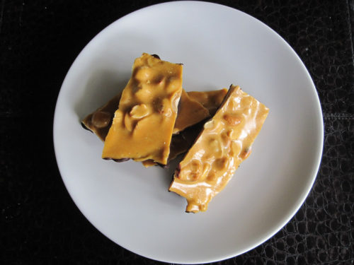 Chocolate-Dipped Banana Nut Brittle