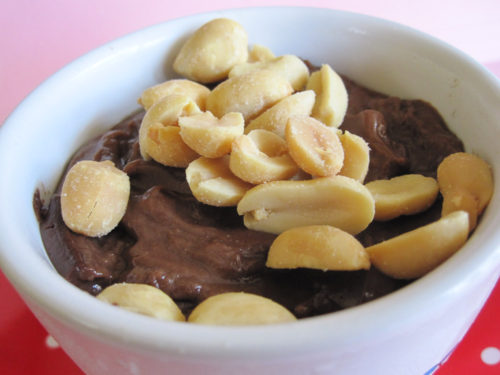 Vegan Chocolate-Peanut Butter Pudding Recipe-3