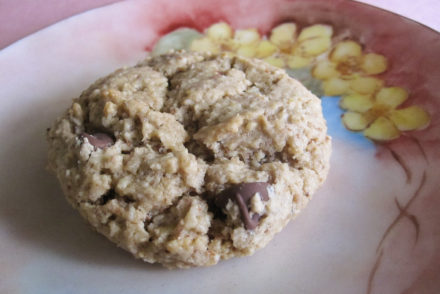 Crispy Peanut Butter Chocolate Chip Cookies-3