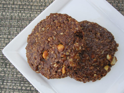 Vegan Chocolate Peanut Butter No Bake Cookies-2
