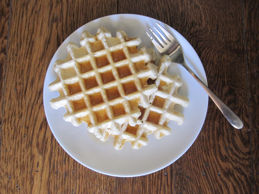 Basic Vegan Waffles Recipe