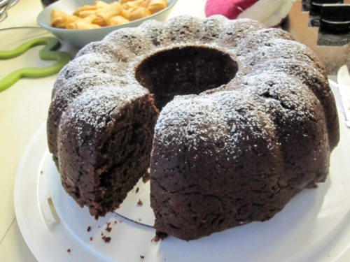 Chocolate Yogurt Bundt Cake-2