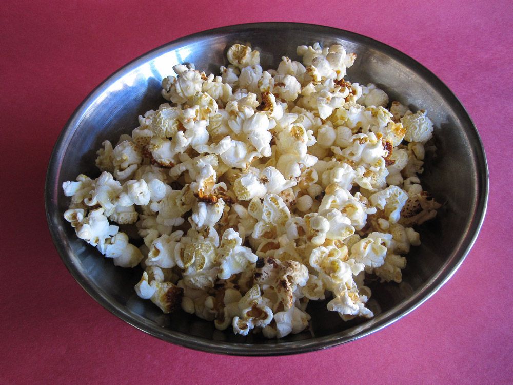 Kettle Corn Recipe for #SundaySupper