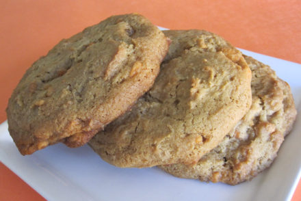 Brown Sugar Toffee Cookies-3
