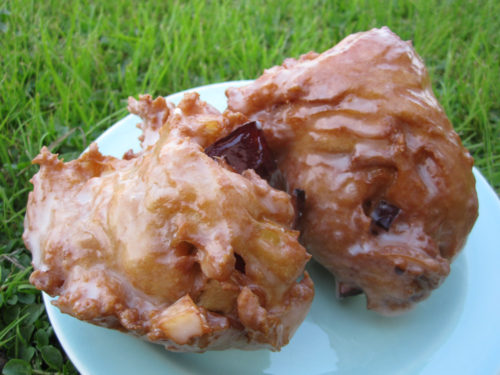vegan apple fritters-2
