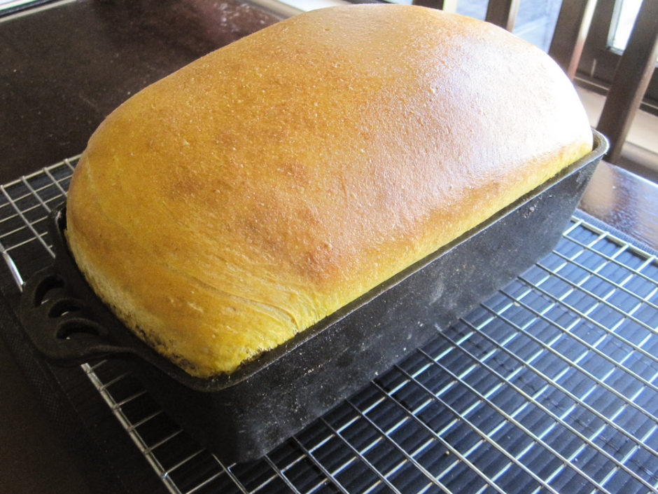 Pumpkin Yeast Bread-2