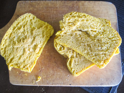 Pumpkin Yeast Bread-4