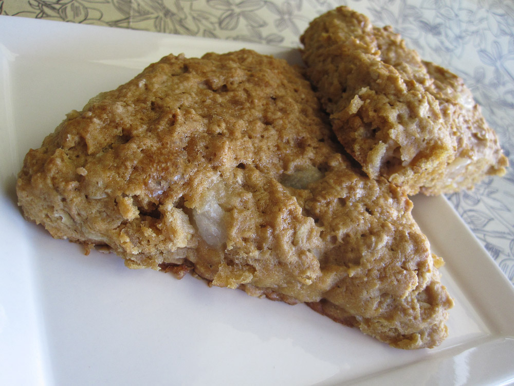 Maple Pear Scones Recipe