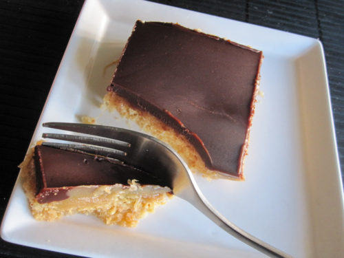 Peanut Butter Caramel Shortbread Bars-3