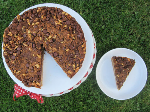 Banana Coffee Cake with Chocolate Chip Streusel Recipe-3