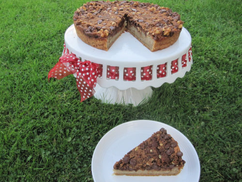 Banana Coffee Cake with Chocolate Chip Streusel Recipe-4