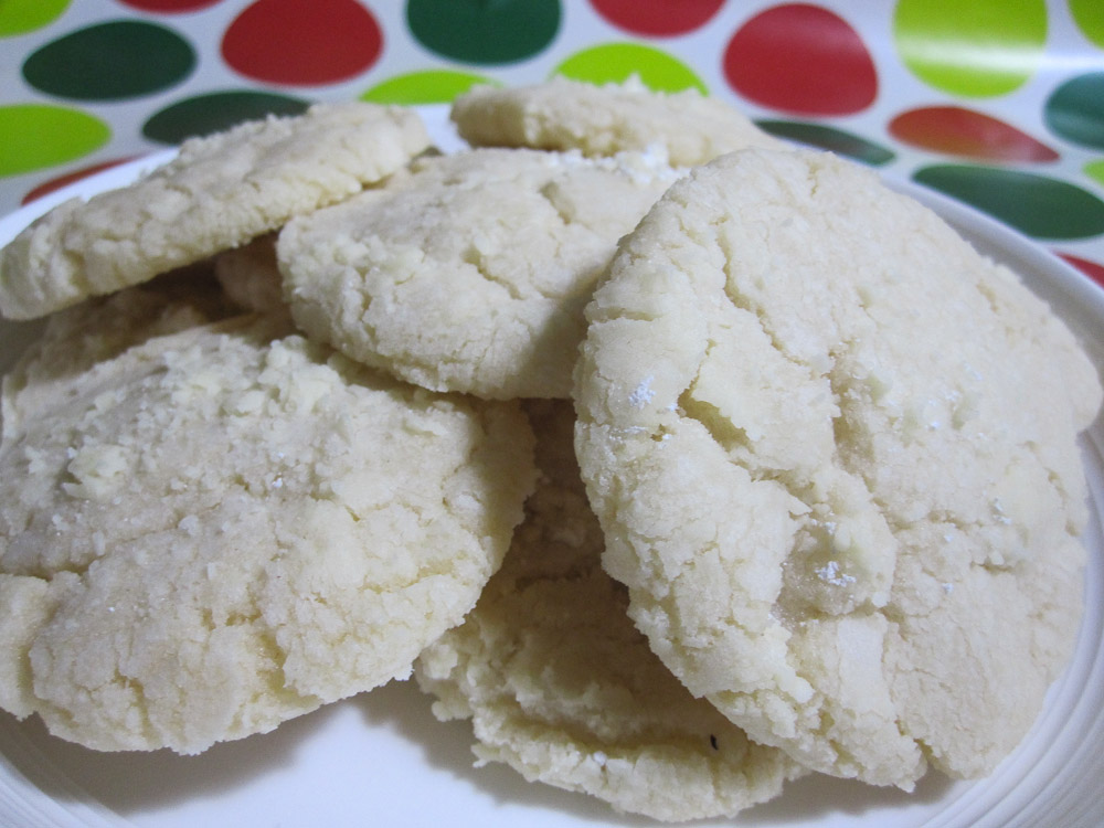 2013 Cookie Swap & Lemon Crinkle Cookies Recipe