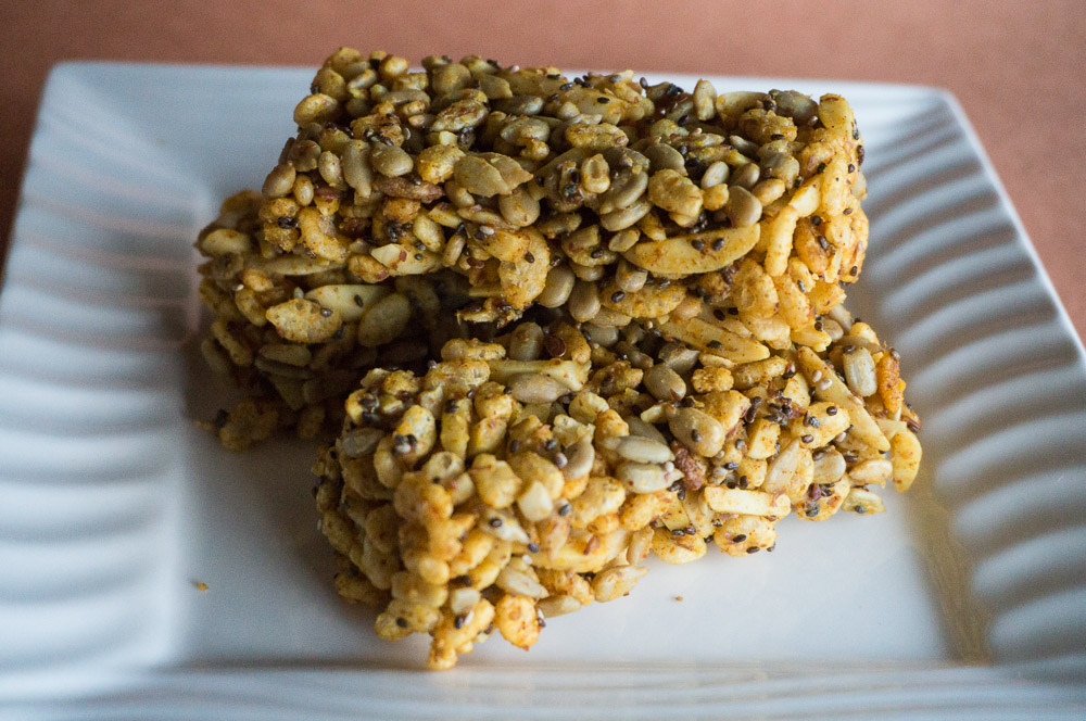 No Bake Savory Sweet Snack Bars-4
