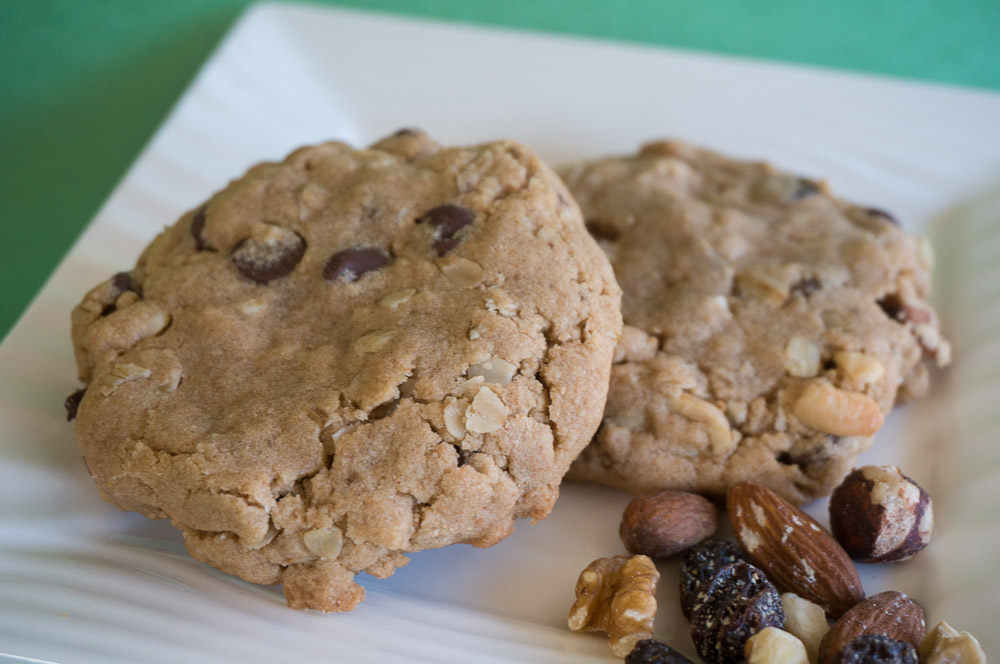 Peanut Butter Trail Mix Cookies-3
