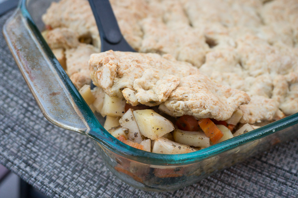Root Vegetable Cobbler Recipe