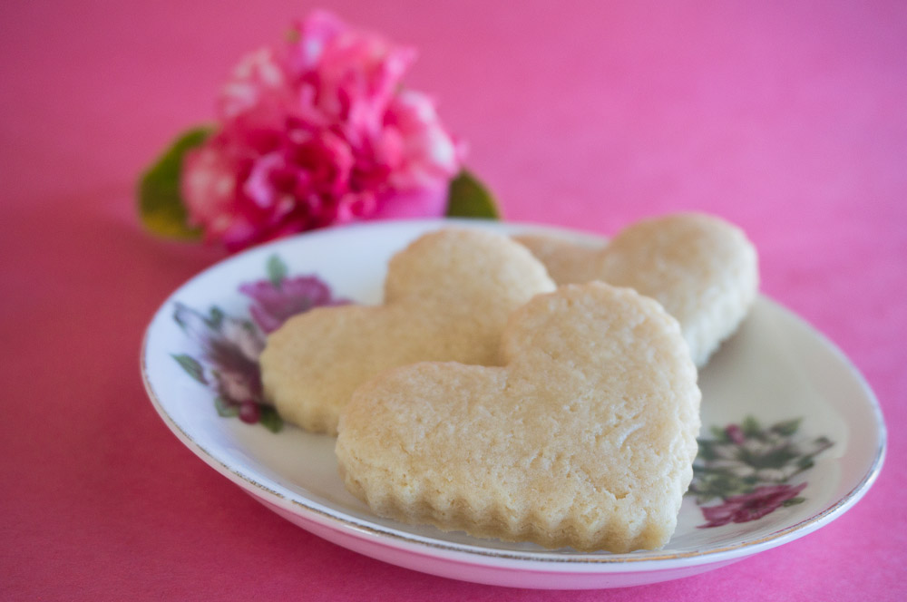 German Rose Water Sugar Cookies For Two