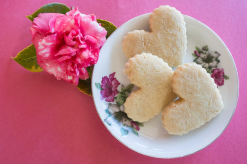 German Rose Water Sugar Cookies_