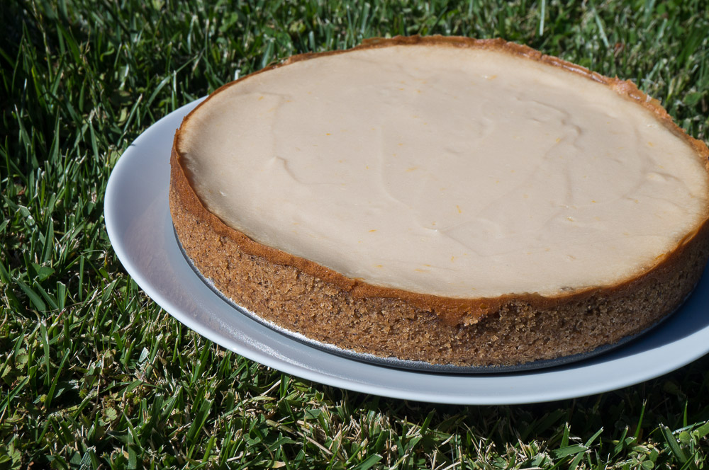 Passover Vegan Lemon Cheesecake