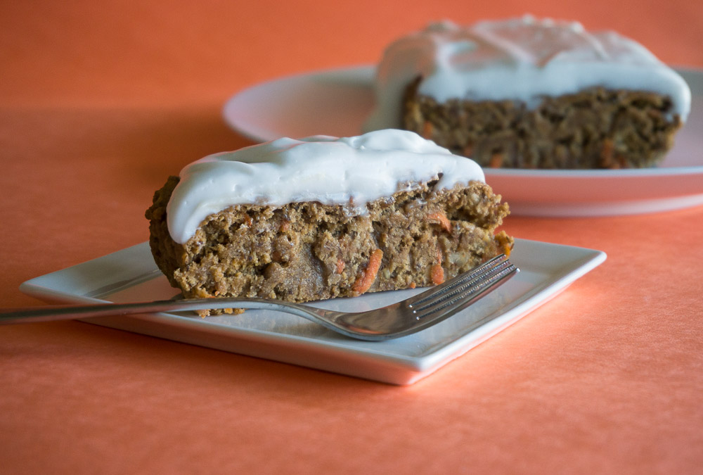 Vegan Spelt Carrot Cake with Coconut Cream Frosting-3